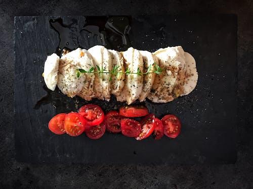 Kostnadsfri bild av caprese, färska grönsaker, kök, kokta
