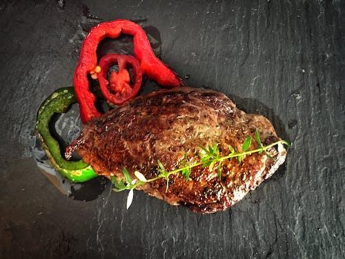 Kostnadsfri bild av biff, färska grönsaker, god hälsa, grill