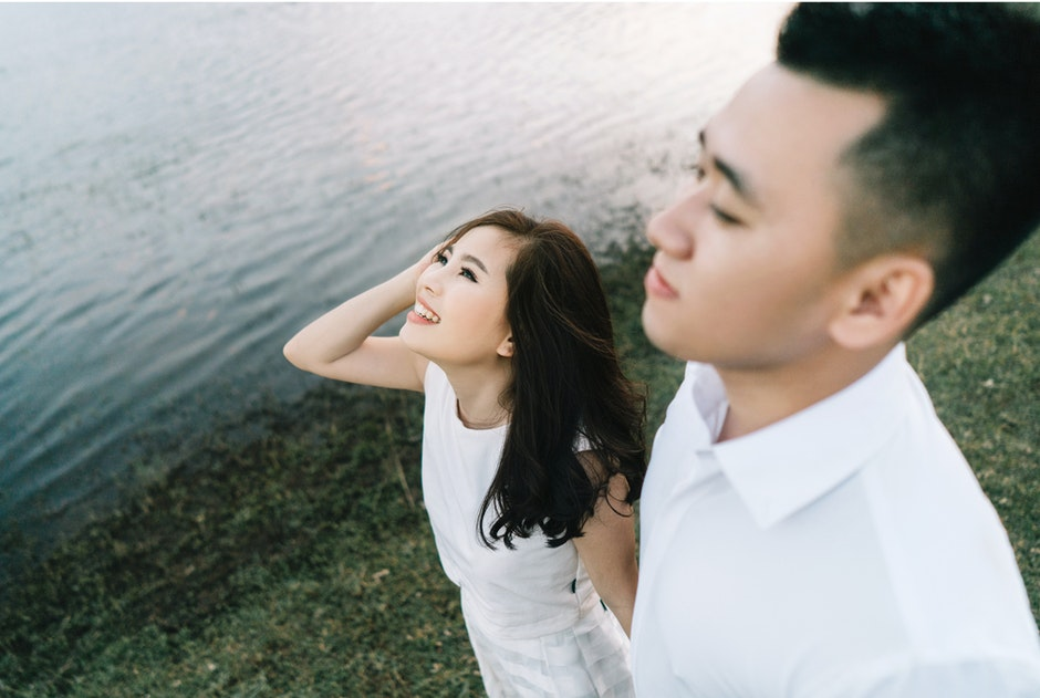 couple, make up, photoshoot