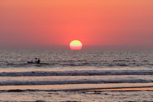 Photos gratuites de playa, sol, sol de la tarde