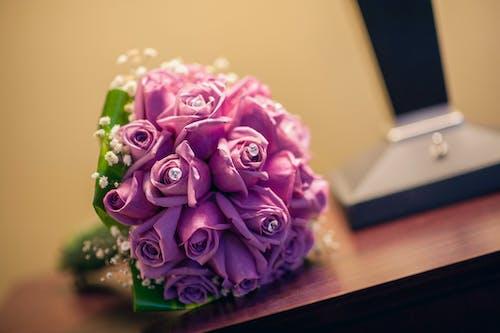 Photos gratuites de fleur violette, fleurs, mariage