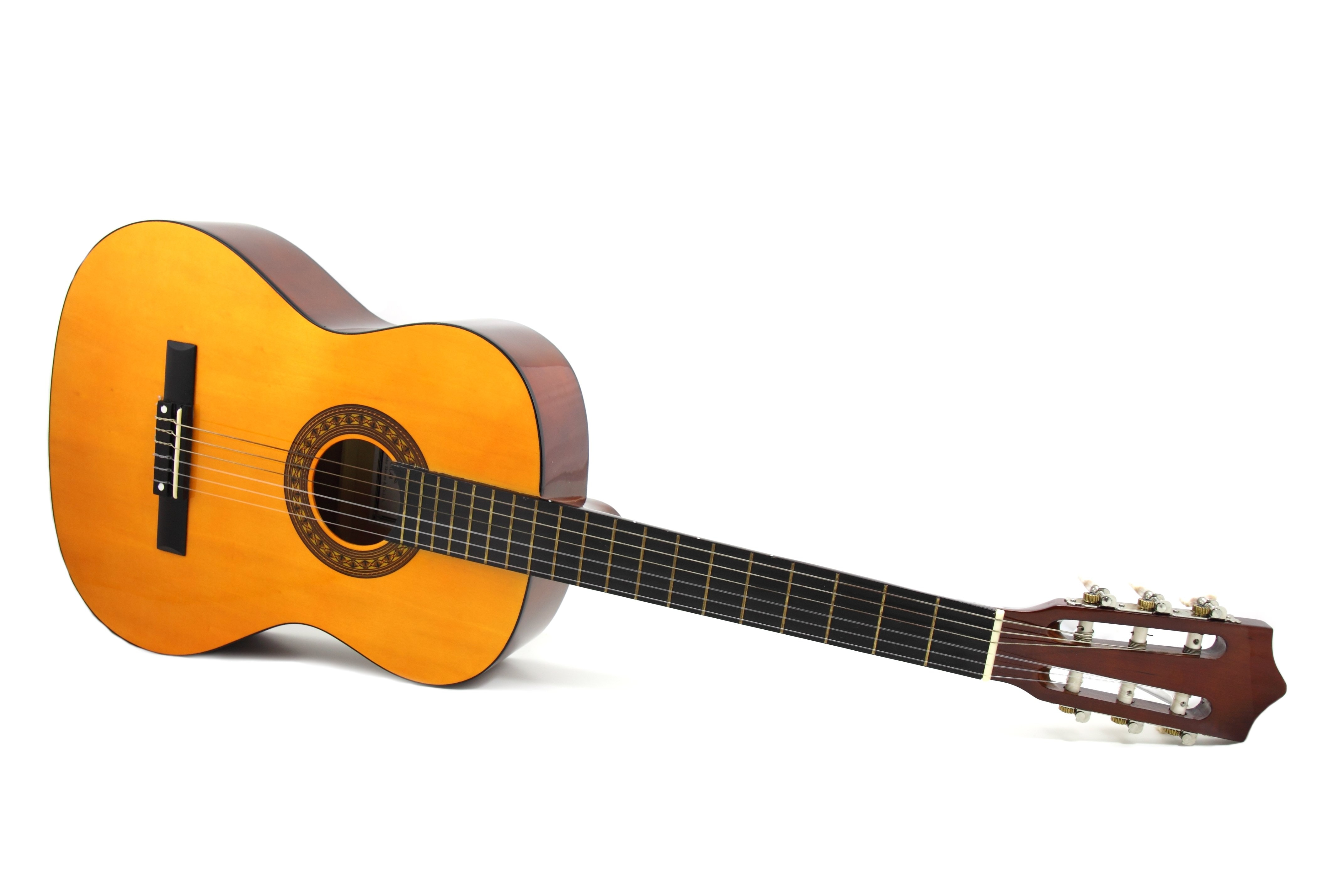 Brown Dreadnought Classical Guitar Free Stock Photo