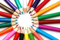 colorful, colourful, pencils