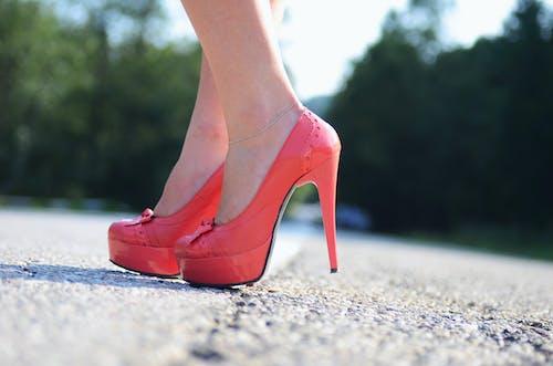 คลังภาพถ่ายฟรี ของ ใส่รองเท้า