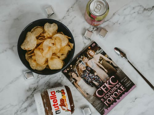 Junk Food and Dvd