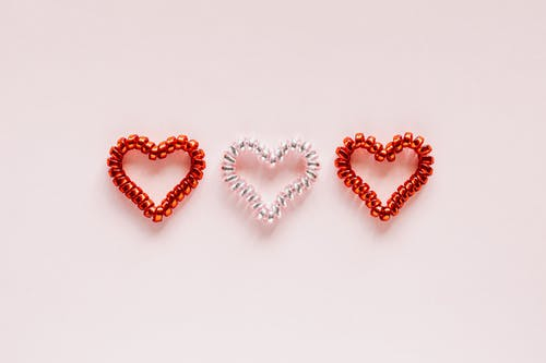 Set of hearts for San Valentines Day