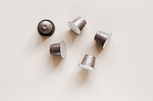 Collection of capsules for coffee machine
