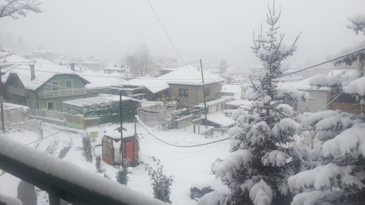Photos gratuites de bosnie, neige, neige à sarajevo
