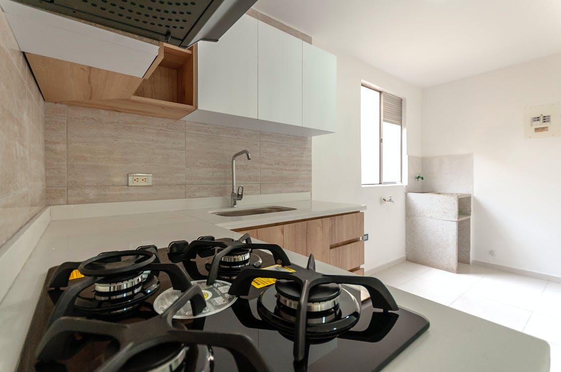 Free stock photo of alquiler, aparato de cocina, apartamento