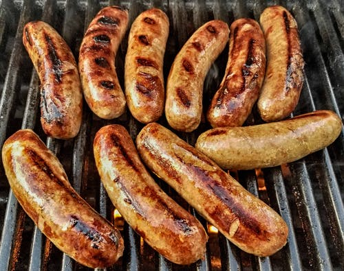 Free stock photo of barbecue grill, bratwurst, grill, grilled meat
