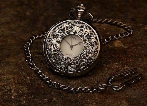 Foto d'estoc gratuïta de rellotge de butxaca, temps