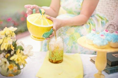 buzlu çay, Çay, çay partisi, çaydanlık içeren Ücretsiz stok fotoğraf