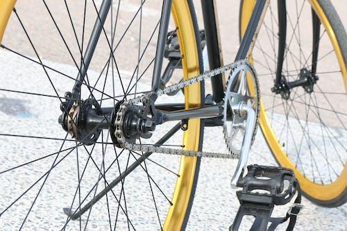 Foto d'estoc gratuïta de artes de bicicleta, pedal, rodes