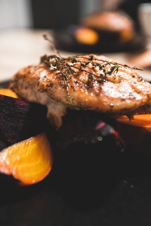 Free stock photo of aroma, beets, breast, chicken