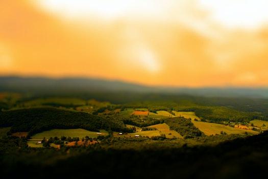 Kostenloses Stock Foto zu licht, dämmerung, landschaft, natur