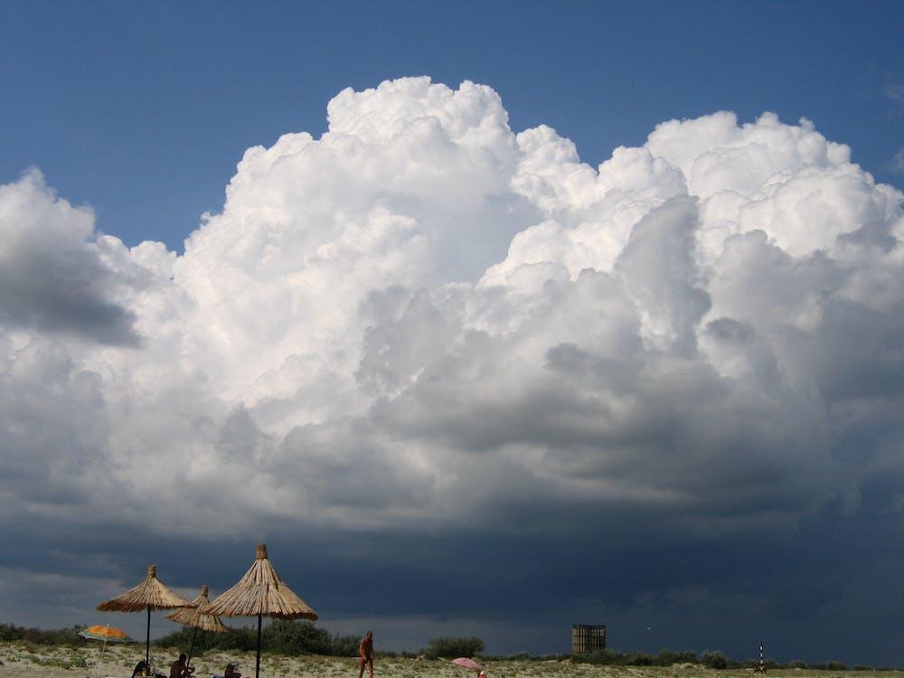 Free stock photo of cloud, rain cloud, rainy cloudbeach landscape