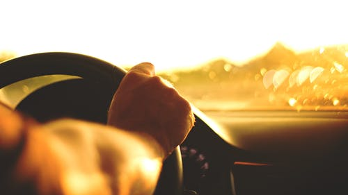 Free stock photo of arm, car, drive