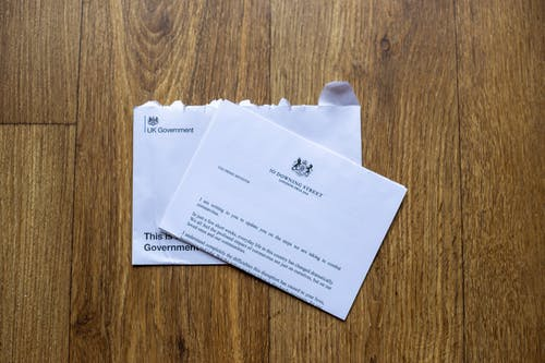 Free stock photo of covid, Downing street letter, government