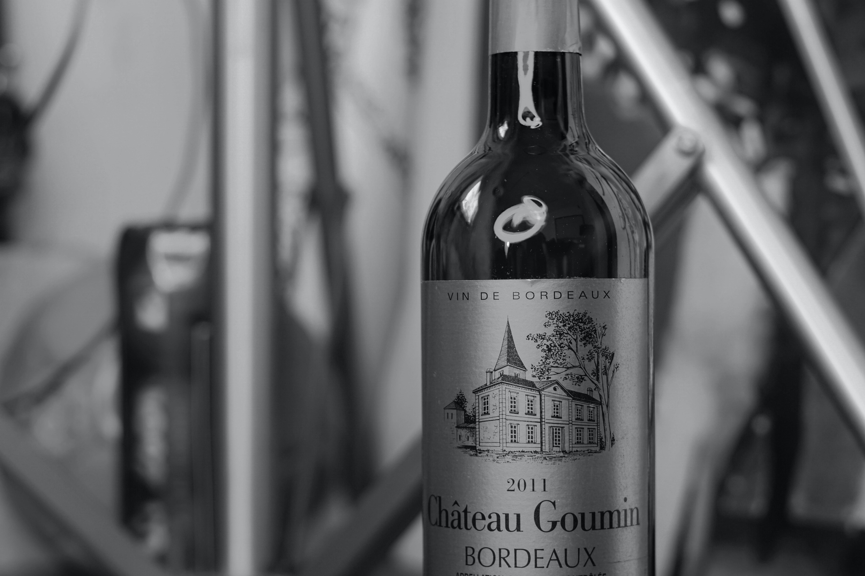Free stock photo of black and white, monochrome, wine bottle