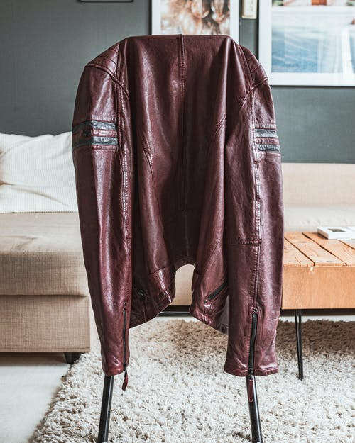 Free stock photo of brown leather jacket, fashion, home art