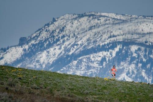 Gratis arkivbilde med kjører løper fjell åser