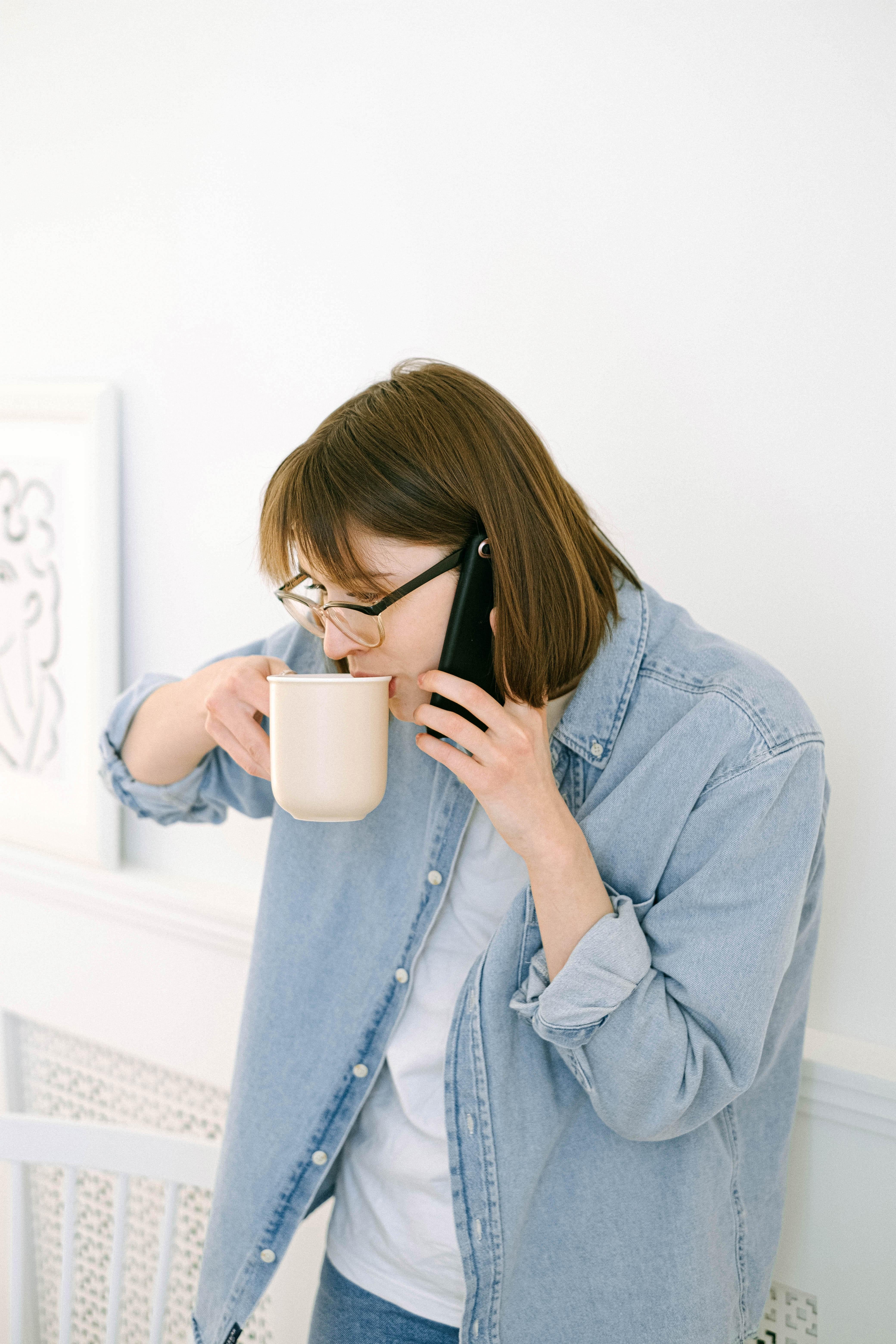 Woman Having a Phone Call · Free Stock Photo