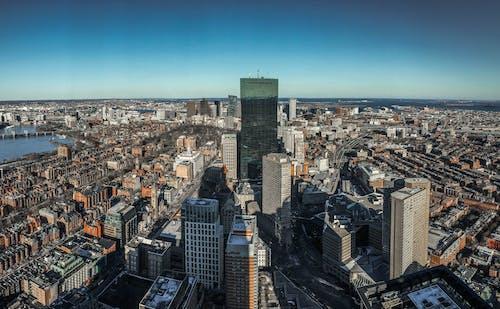 คลังภาพถ่ายฟรี ของ ตึกระฟ้า, ถนน, บอสตัน, สถาปัตยกรรม