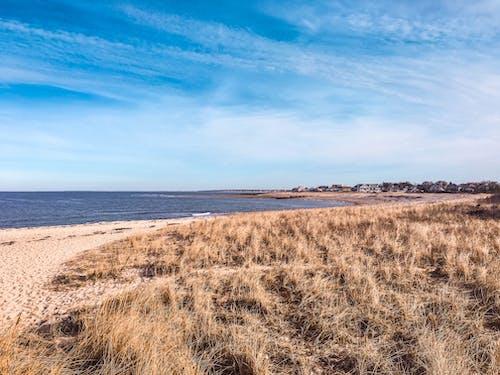 คลังภาพถ่ายฟรี ของ ชายหาด, ทราย, ท้องฟ้า, ทะเล