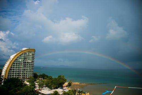 Free stock photo of beach, pattaya, rainbow