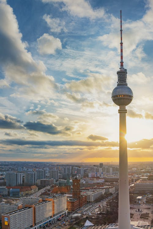 Free stock photo of Alexanderplatz, berlin, city, skyline