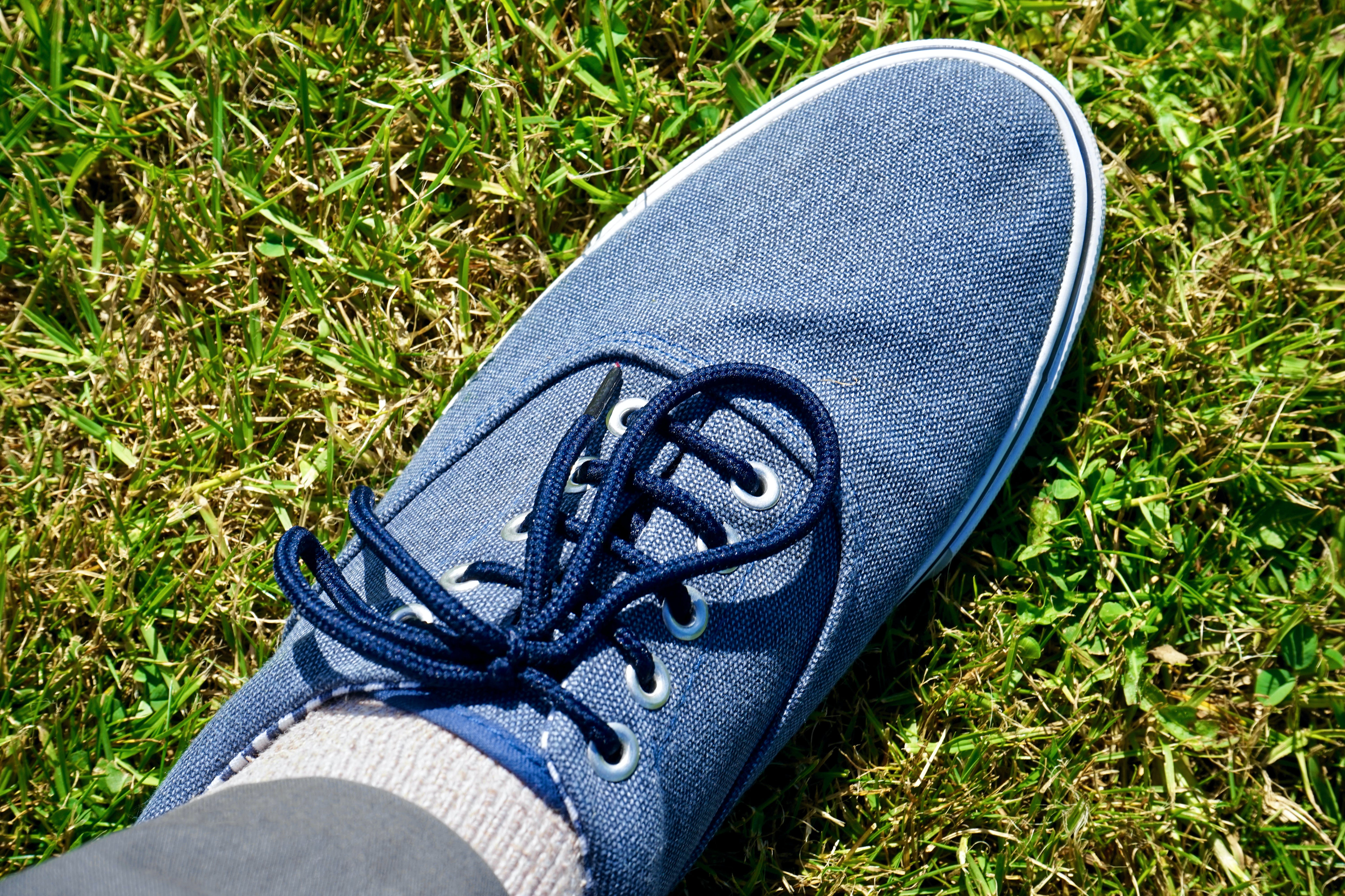 blue, canvas, casual