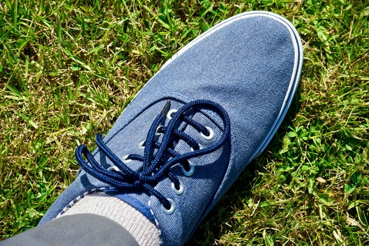 Free stock photo of fashion, blue, foot, clothing