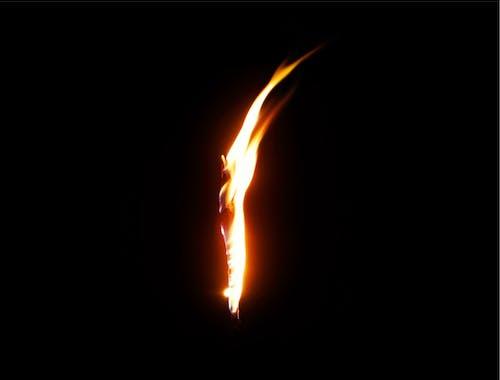 Fotobanka sbezplatnými fotkami na tému ľahký, oheň, plameň, tma