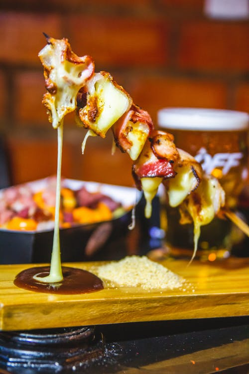 Free stock photo of bacon, barbecue, bbq, cheese