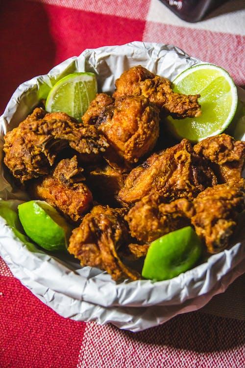 Free stock photo of chicken, frango, limão