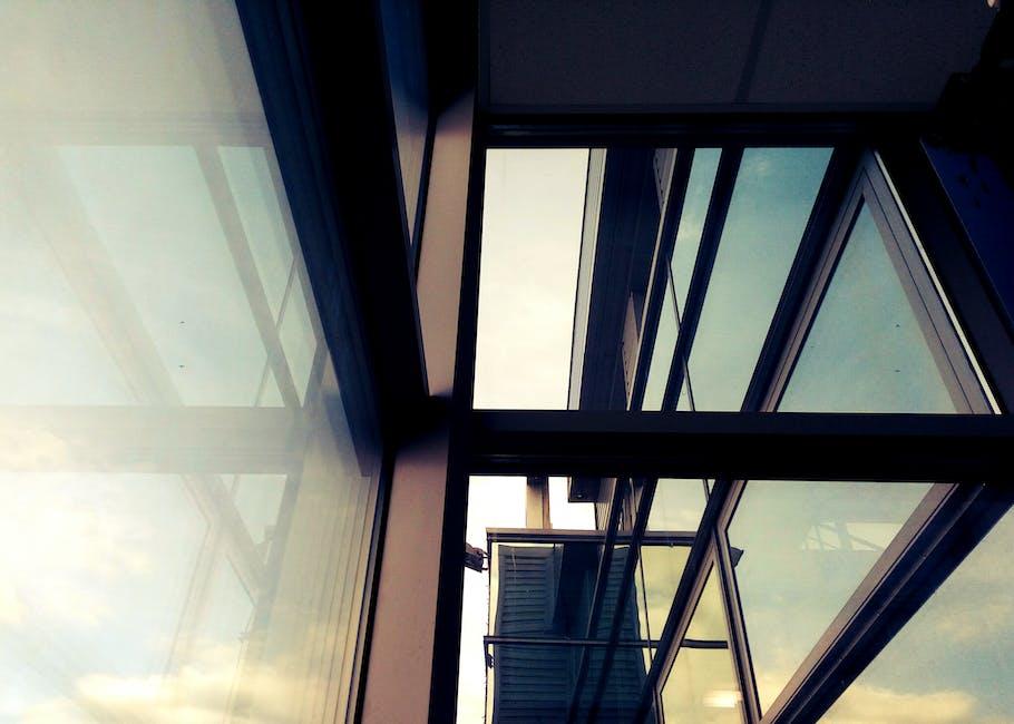 New free stock photo of glass, windows, reflection