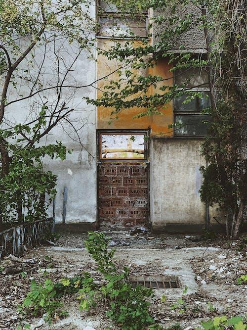 Foto profissional grátis de abandonado, alvenaria, antigo, ao ar livre