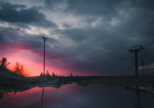 Darmowe zdjęcie z galerii z błyskawica, burza, chmura, ciemny