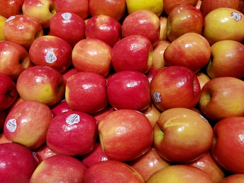 Free stock photo of apples, fruit, fruit stand, red
