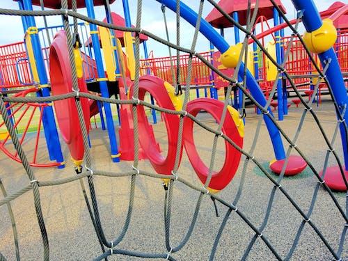 Free stock photo of children, climbing net, kids, park