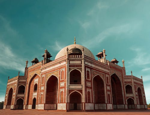 The Famous Humayun's Tomb in India