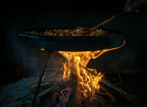 Free stock photo of fuego, gastronomia