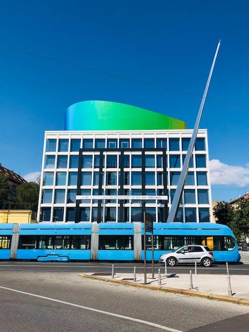 Free stock photo of #blue #car #croatia #yellow #design