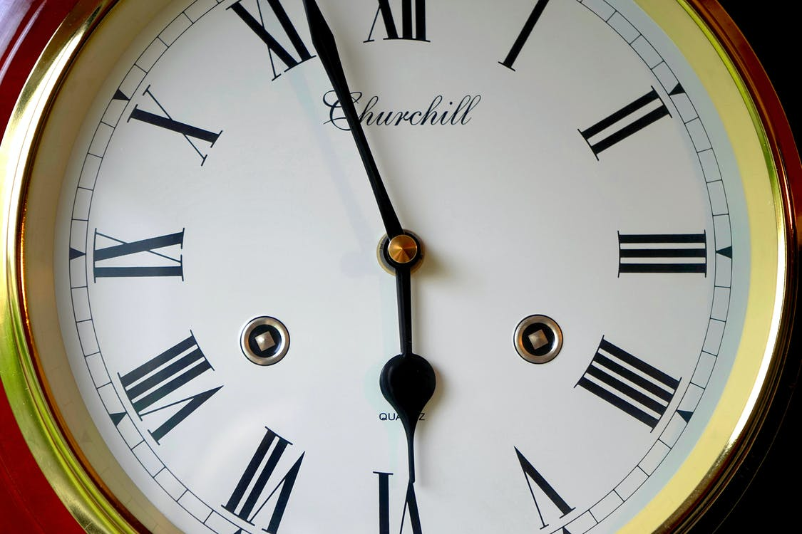 аналоговий, годинник, дизайн