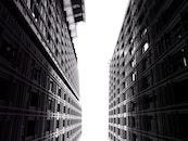 sky, buildings, office