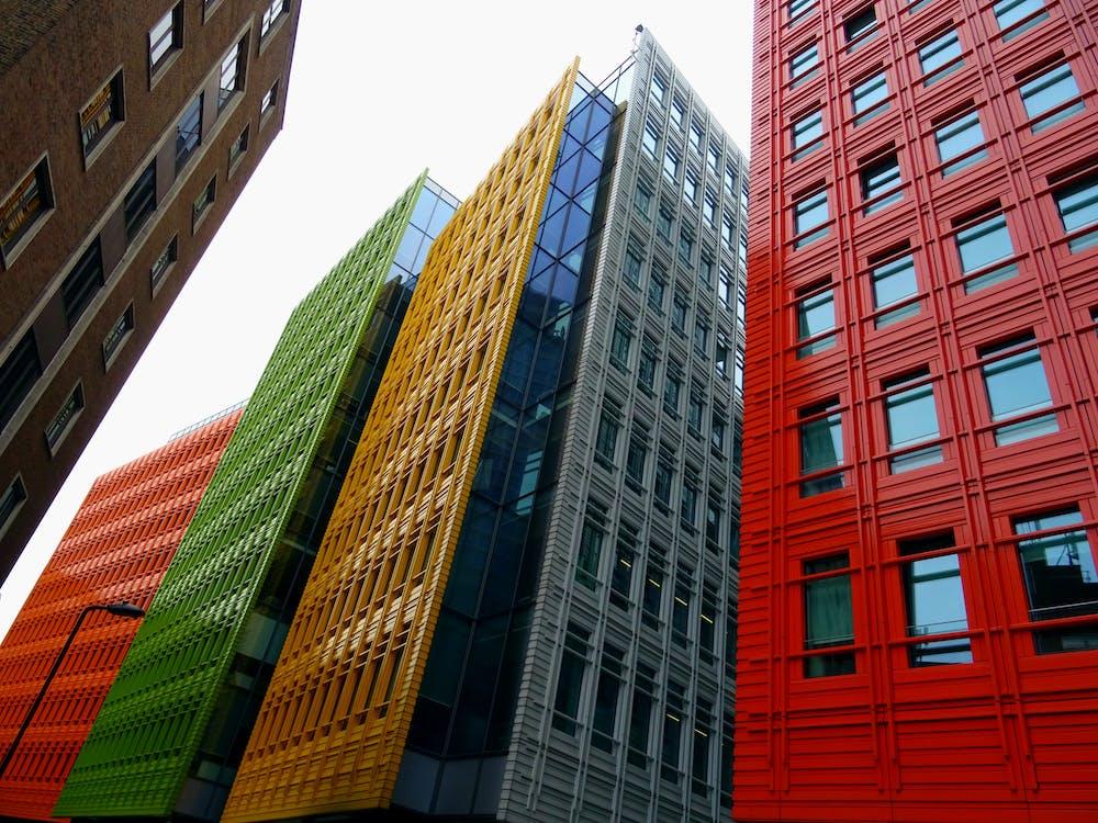 αντανάκλαση, αρχιτεκτονική, αστικός