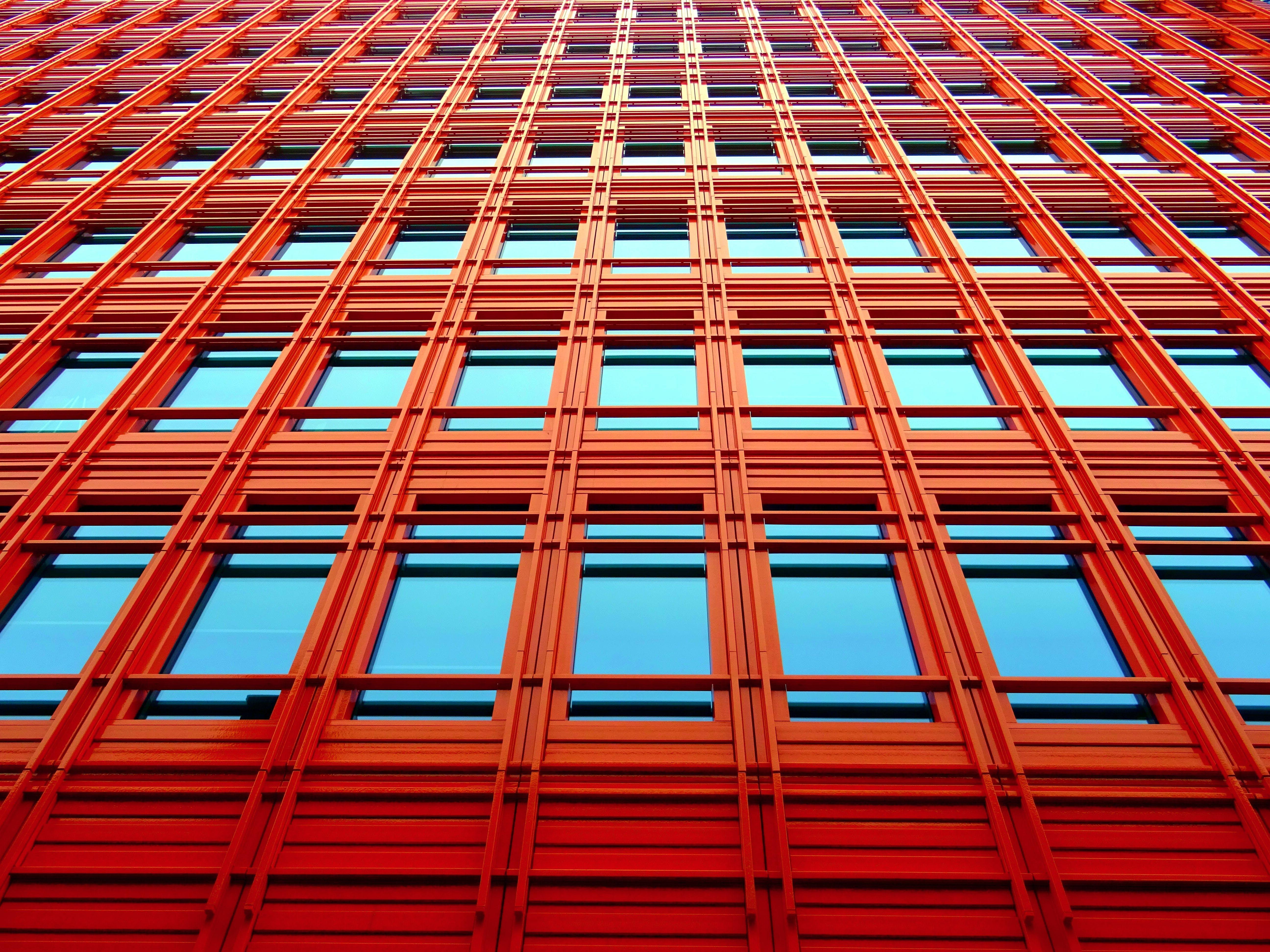 architecture, building, business