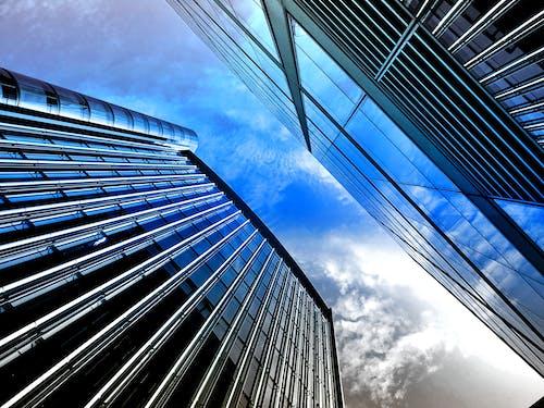 ガラス窓, コンテンポラリー, シティ, ダウンタウンの無料の写真素材