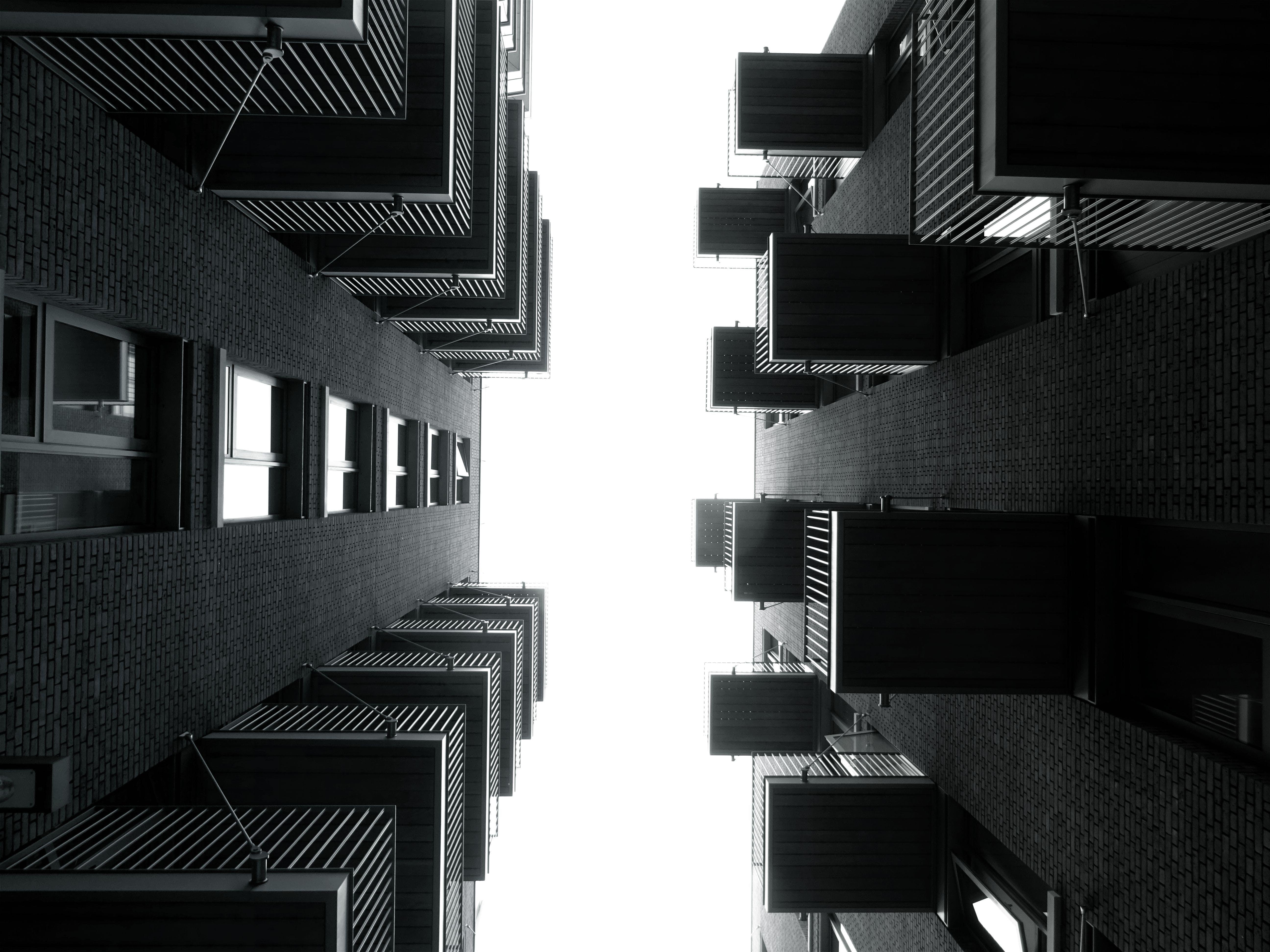 apartments, architecture, balcony