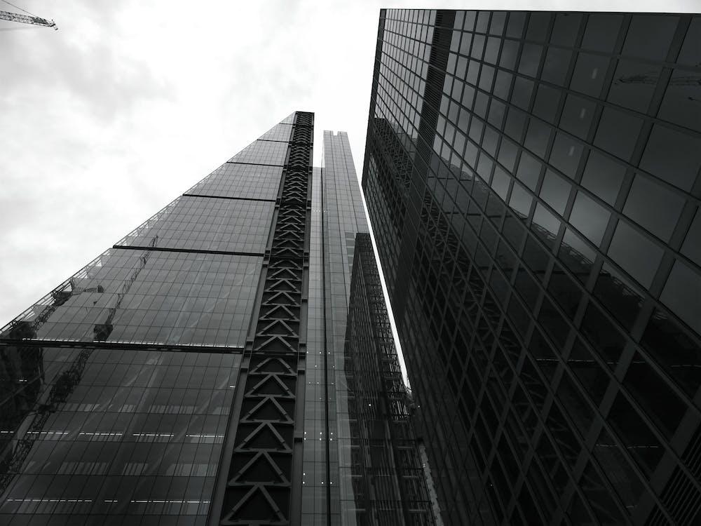 bầu trời, các tòa nhà, cảnh quan thành phố